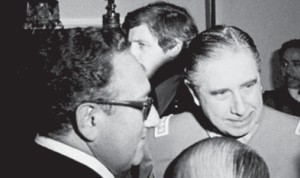 Henry Kissinger (Usa) e Pinochet (Cile)